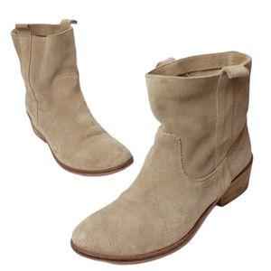 Lavorazione Artigiana Tan Suede Boots